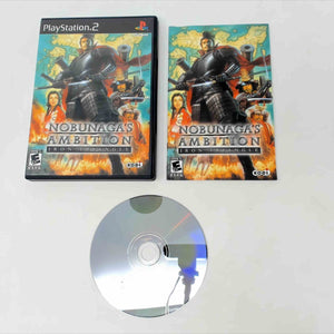 Nobunaga's Ambition Iron Triangle (Playstation 2 / PS2)