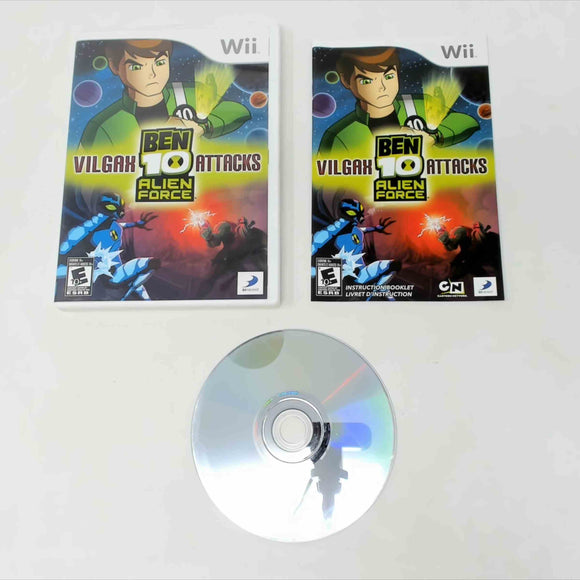 Ben 10: Alien Force: Vilgax Attacks (Wii)