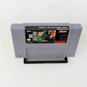 Frank Thomas Big Hurt Basebal (Super Nintendo SNES)