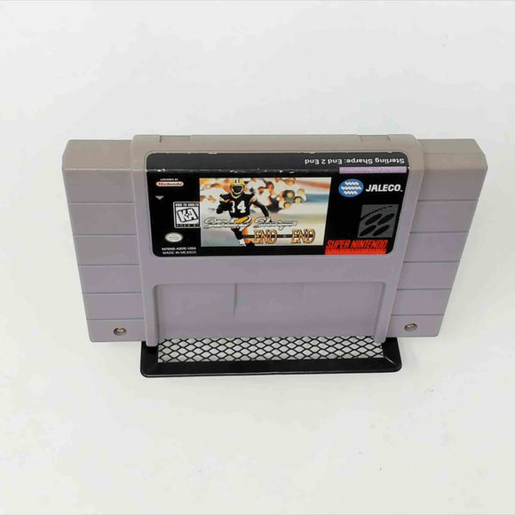 Sterling Sharpe: End 2 End (Super Nintendo SNES)