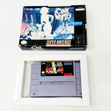 Cool World (Super Nintendo SNES)