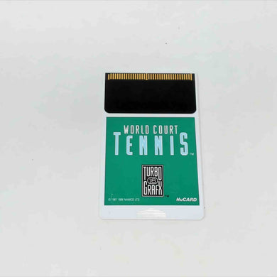 World Court Tennis (Turbografx-16)