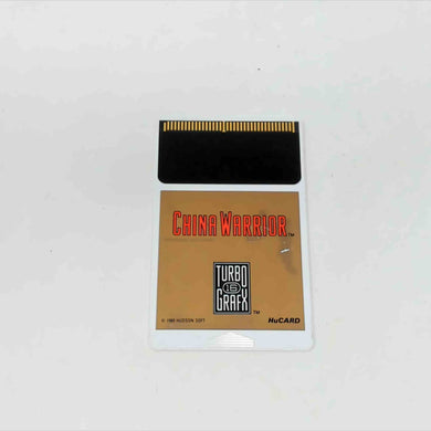 China Warrior  (Turbografx-16)