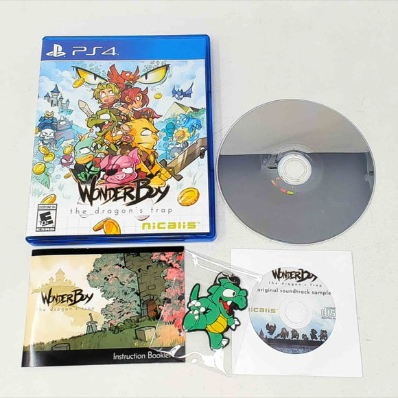 Wonder Boy The Dragon's Trap (Playstation 4 / PS4)