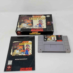 Ardy Light Foot (Super Nintendo SNES)