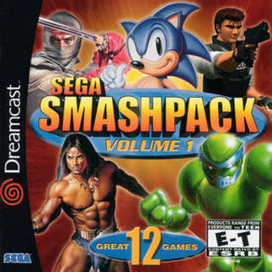 SEGA Smash Pack Volume 1 (Dreamcast)