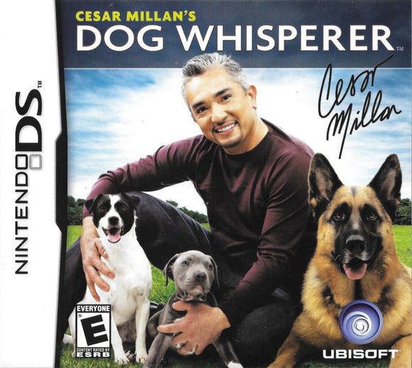 Cesar Millan's Dog Whisperer (Nintendo DS)