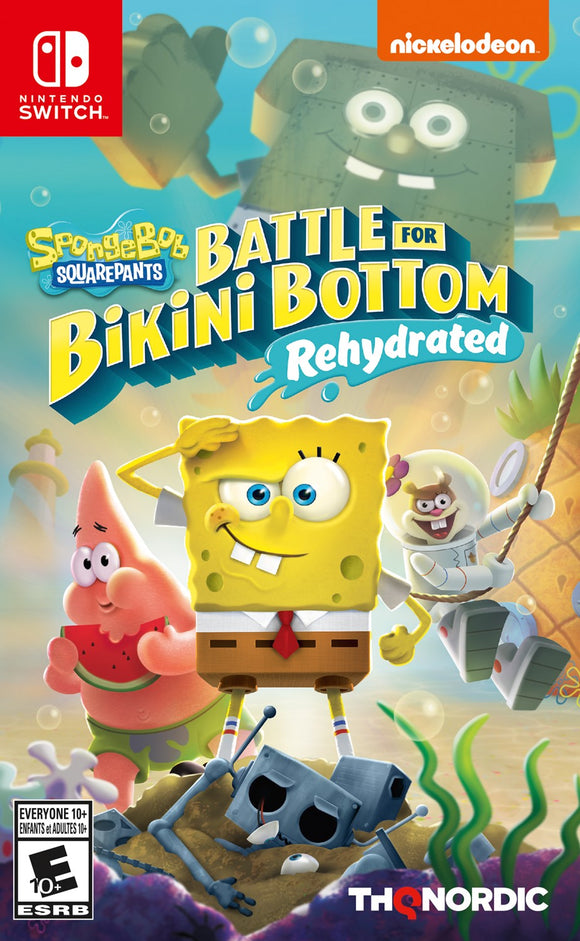 SpongeBob SquarePants Battle for Bikini Bottom Rehydrated (Nintendo Switch)