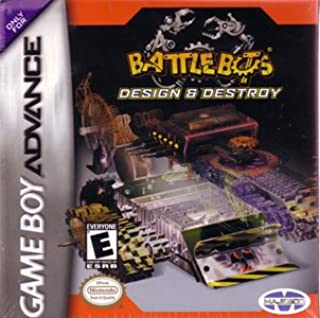 Battlebots Design and Destroy (Game Boy Advance)