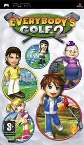 Everybody's Golf 2 version française (PAL) (Playstation Portable / PSP)