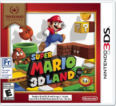 Super Mario 3D Land [Nintendo Selects] (Nintendo 3DS)