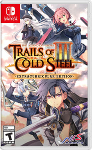 Legend of Heroes: Trails of Cold Steel III [Extracurricular Edition] (Nintendo Switch)