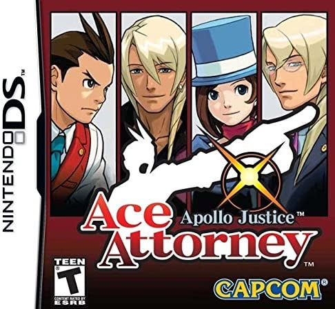 Ace Attorney Apollo Justice (Nintendo DS)