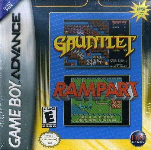Gauntlet and Rampart (Game Boy Advance / GBA)