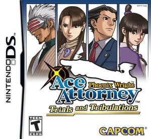 Phoenix Wright Trials and Tribulations (Nintendo DS)