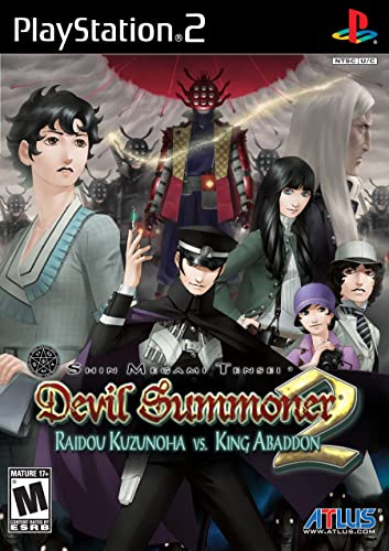 Shin Megami Tensei: Devil Summoner 2: Raidou Kuzunoha vs. King Abaddon (Playstation 2 / PS2)