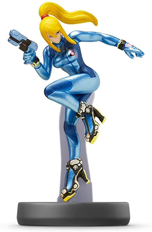 Samus Zero Suit - Super Smash Series (Amiibo)