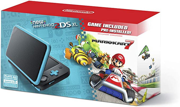 New Nintendo 2DS XL Black And Blue (Nintendo 3DS)