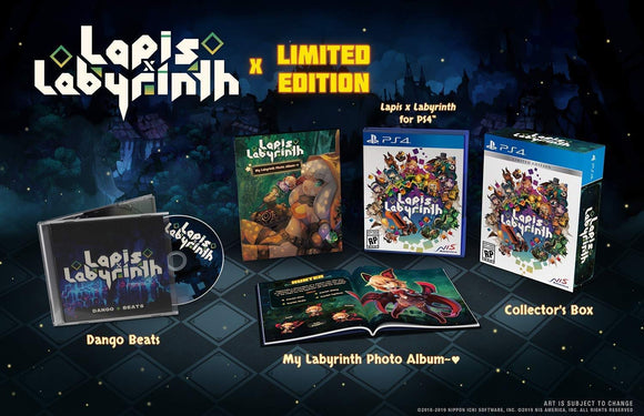 Lapis X Labyrinth [Limited Edition] (Playstation 4 / PS4)