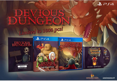 Devious Dungeon [Limited Edition] (JP Import) (Playstation 4 / PS4)