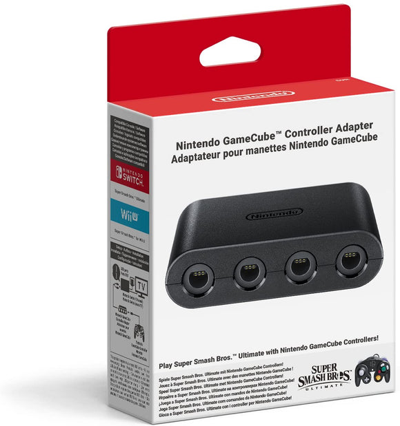 Nintendo Gamecube Controller Adapter (Nintendo Switch / Wii U)