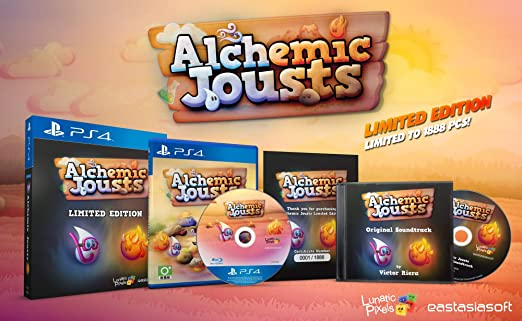 Alchemic Jousts [Limited Edition] (JP Import) (Playstation 4 / PS4)