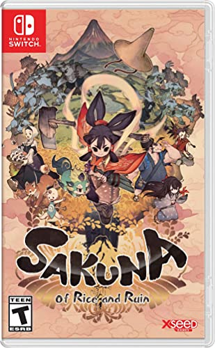 Sakuna: Of Rice and Ruin (Nintendo Switch)