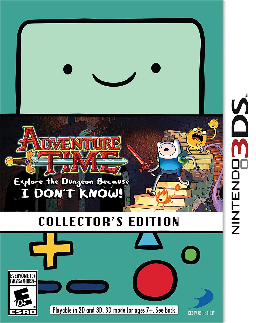 Adventure Time: Explore the Dungeon Because I Don't Know [Collector's Edition] (Nintendo 3DS)