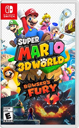 Super Mario 3D World + Bowser's Fury (Nintendo Switch)