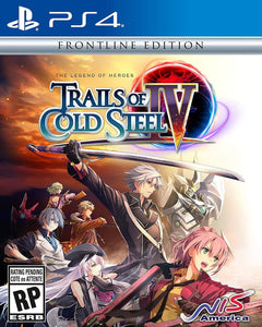 The Legend of Heroes Trails of Cold Steel 4 Frontline Edition (Playstation 4 / PS4)