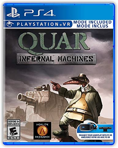 Quar: Infernal Machines (Playstation 4 / PS4)