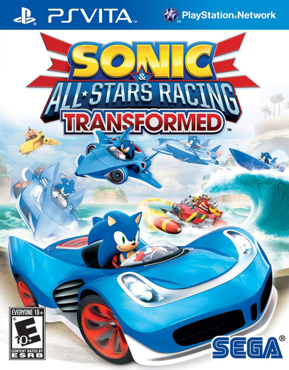 Sonic & All-Stars Racing Transformed (Playstation Vita / PSVITA)