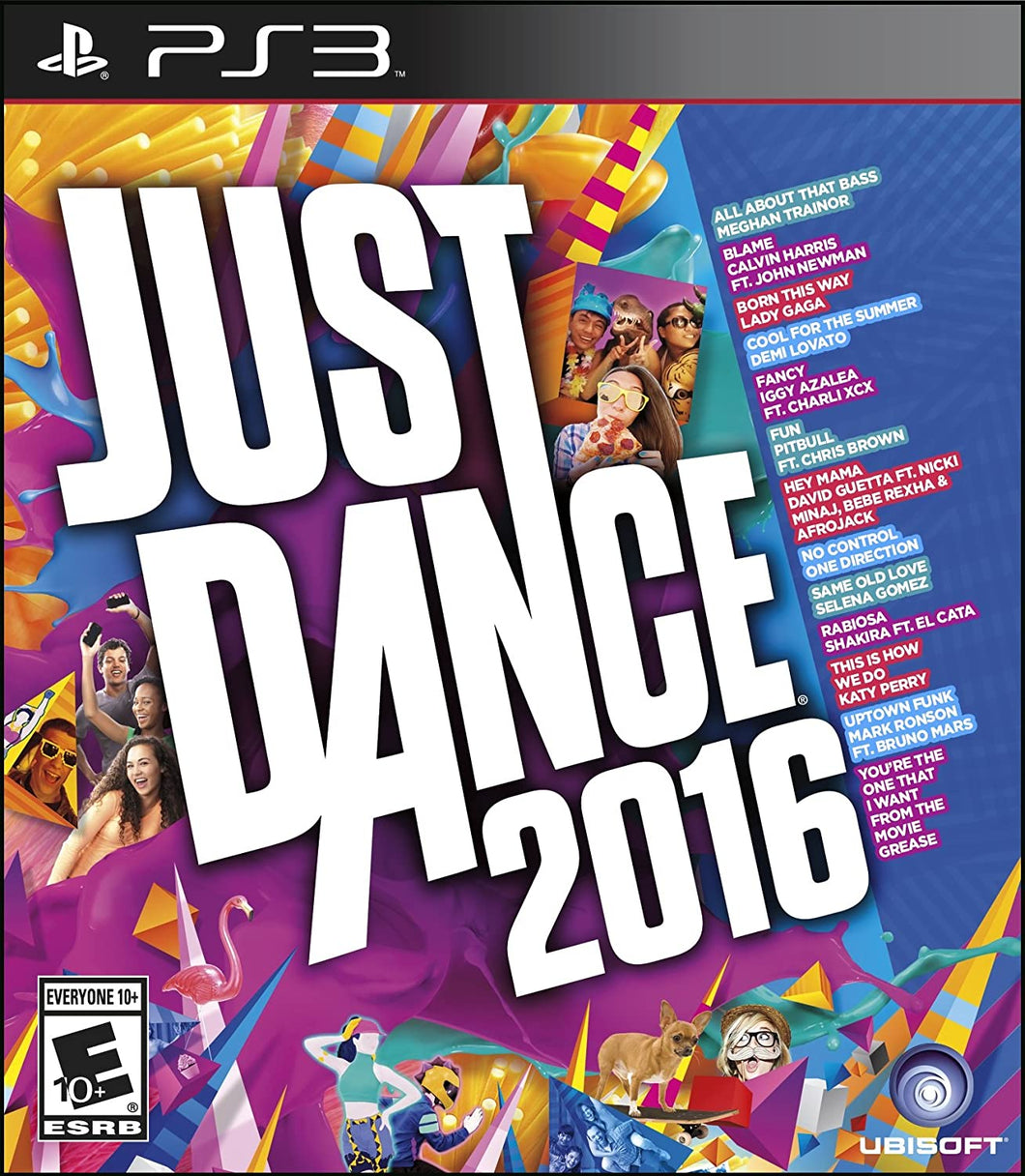 Just Dance 2016 (Playstation 3 / PS3)