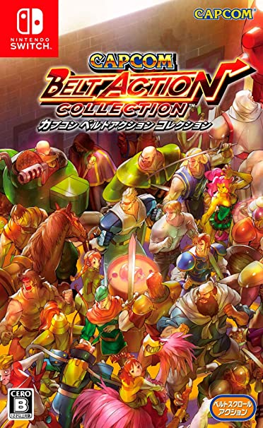 Capcom Belt Action Collection (Import JP) (Nintendo Switch)