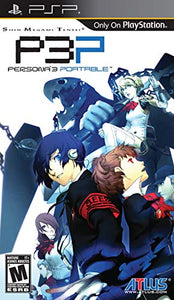 Shin Megami Tensei: Persona 3 Portable (Playstation Portable / PSP)