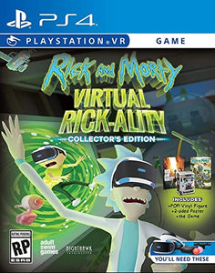 Rick And Morty Virtual Rick-Ality (Playstation 4 / PS4)