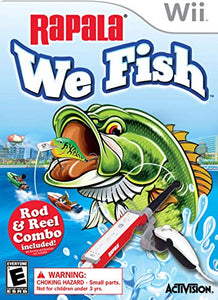 Rapala: We Fish with Fishing Rod (Wii)