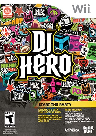 DJ Hero [Game Only] (Nintendo Wii)