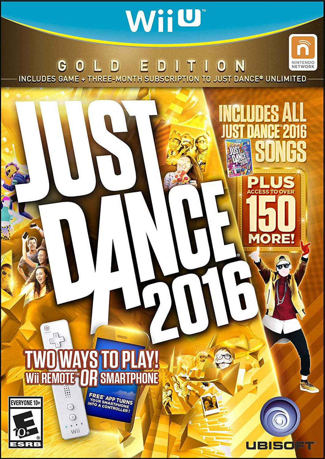Just Dance 2016: Gold Edition (Wii U)