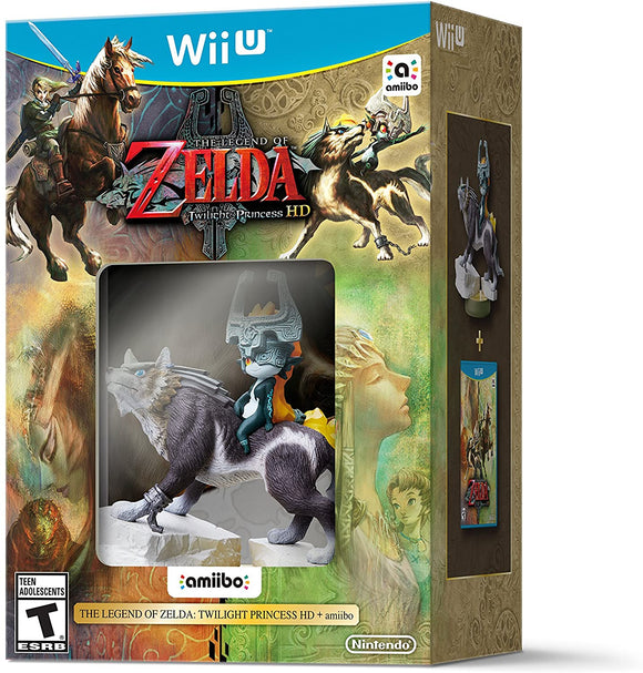 Zelda Twilight Princess HD [amiibo Bundle] (Wii U)