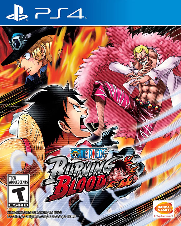 One Piece Burning Blood (Playstation 4 / PS4)