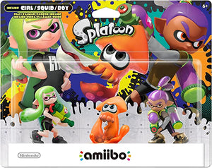 Splatoon 3 Pack [Alt Colors] (Amiibo)