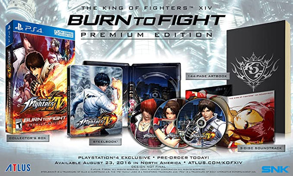 King Of Fighters XIV Burn To Fight [Premium Edition] (Playstation 4 / PS4)