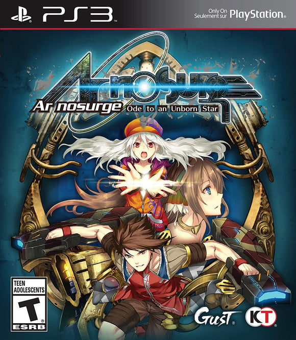 Ar Nosurge: Ode to an Unborn Star (Playstation 3 / PS3)