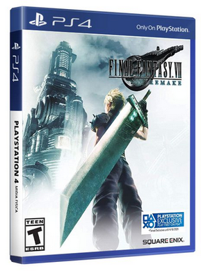 Final Fantasy VII 7 Remake (Playstation 4 / PS4)