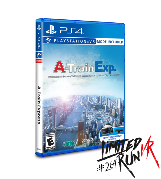 A-Train Exp [Limited Run] (Playstation 4 / PS4)