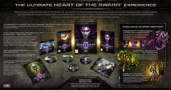 StarCraft II Heart of the Swarm [Collector's Edition] (PC)