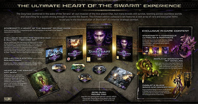 StarCraft II Heart of the Swarm [Collector's Edition] (PAL) (PC)