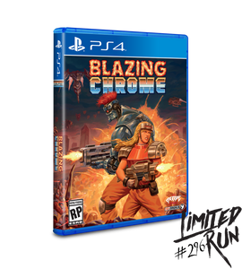 Blazing Chrome (Limited Run) (Playstation 4 / PS4)
