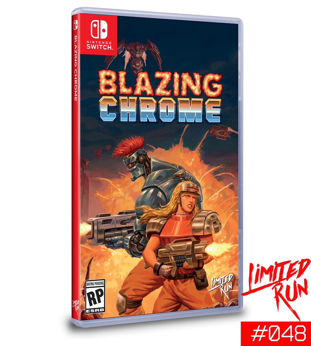 Blazing Chrome (Limited Run) (Nintendo Switch)